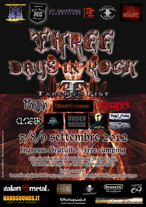 Three Days in Rock Massa Fiscaglia 2012